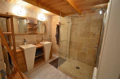meuble sdb bois 518 salle de bain travertin et bois og11 jornalagora