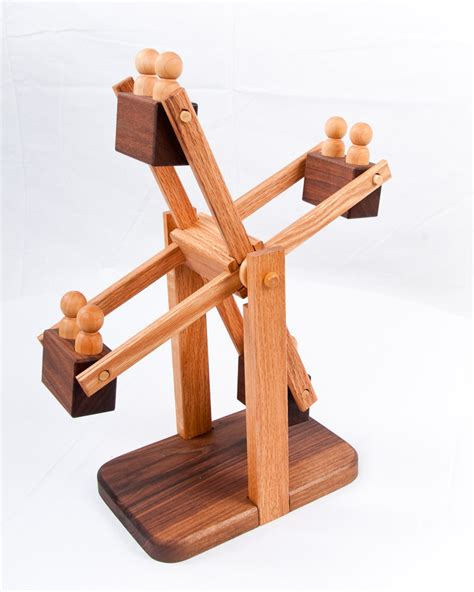 Handmade Wooden Toys Plans - wooden ferris wheel organic by asummerafternoon