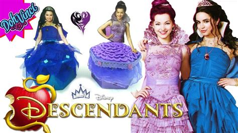 Set Jaket Minnie Yei diy disney descendants mal evie coronation dress doh