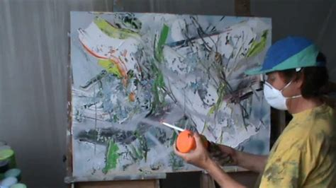 acrylic painting kit layer by layer learn to paint abstract painting really thick layer