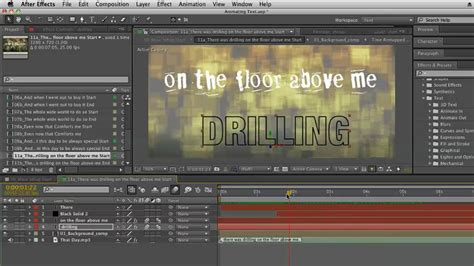 kinetic typography tutorial after effects cs5 kinetic typography techniques with after effects