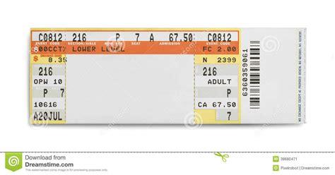concert ticket stock image image 38680471