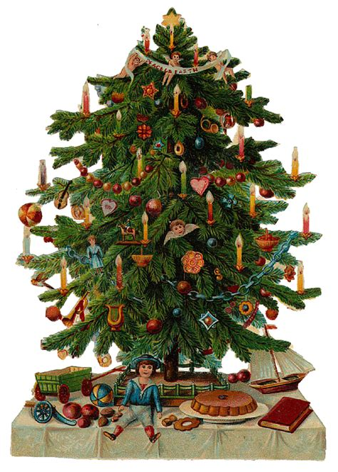 vintage christmas tree victorian archives page 3 of 5 the graffical muse
