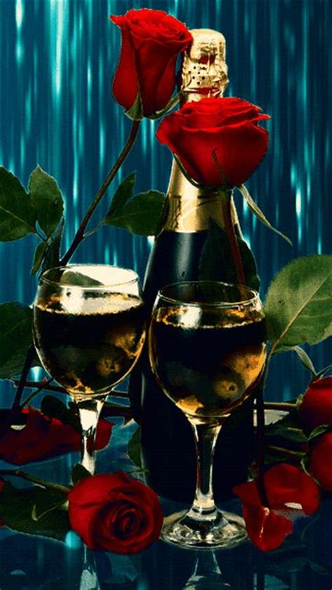 new year 2018 images with rose and wine decuration the world s catalog of ideas