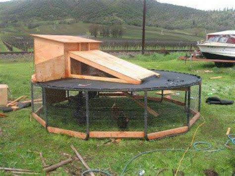 diy troline chicken coop the owner builder network