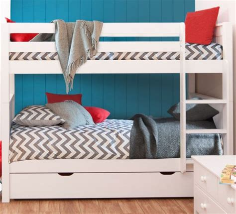 Stompa Classic Bunk Bed Classic Bunk Bed With Trundle Bed By Stompa