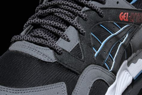 Asics Gel Lyte V Tex Concepts Black Heritageblue 5 concepts x asics gel lyte v tex air 23 air