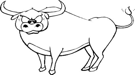 wild animal quot buffalo quot coloring sheet for drawing