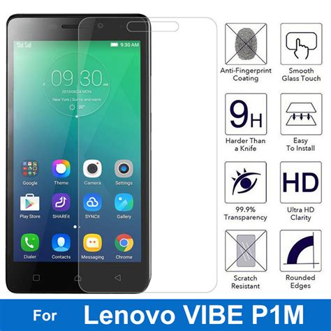 Lenovo Vibe P1m Clear Hardcase Gratis Tempered Glass 0 26mm explosion proof tempered glass for lenovo vibe p1m p1mc50 p1ma40 dual sim front
