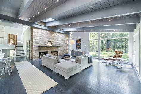 wood beam ceiling ideas wood beams  living room