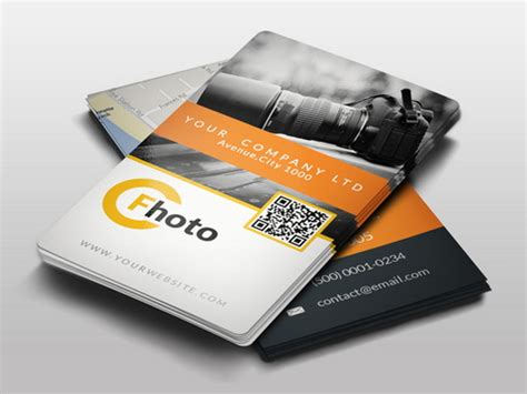 cool id card template 17 best photography business card templates