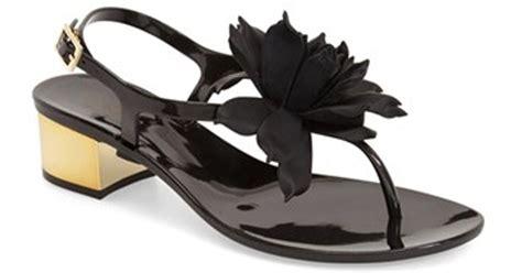 Davina Sandal kate spade new york davina sandal in black lyst
