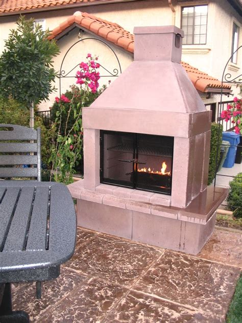 mirage outdoor fireplace diy modular outdoor fireplace by mirage home