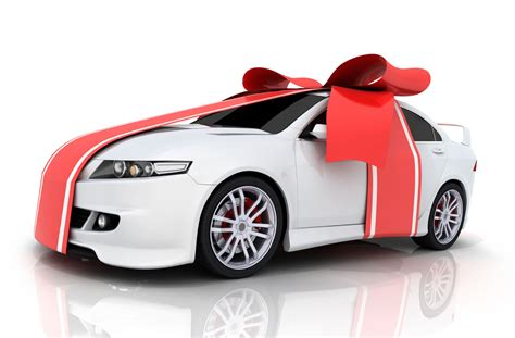 buying new car with buying a car as a gift really