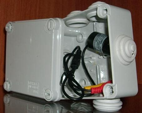 cassette per videocamera microcamera nascosta in scatola di derivazione