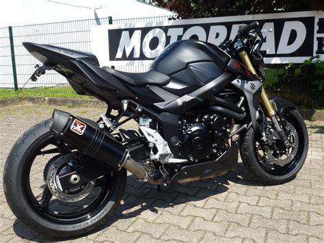 Motorrad Gebraucht Hamburg by Umgebautes Motorrad Suzuki Gsr 750 Von Motorrad Technik
