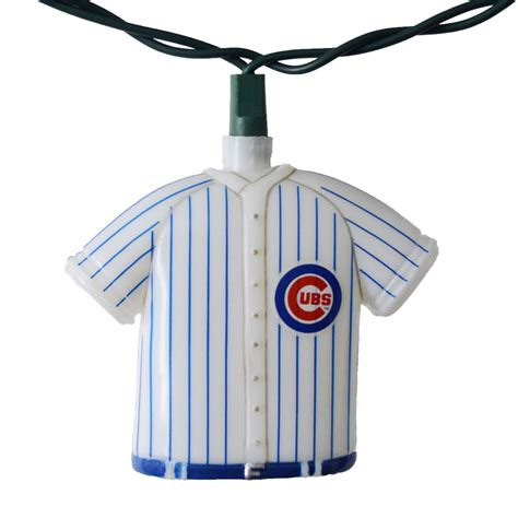 Chicago Cubs Mlb Baseball Uniform Party String Lights Baseball String Lights