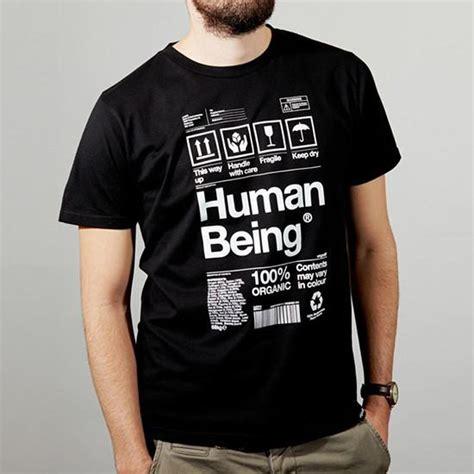 Human Being human being t shirt black origin68