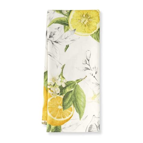 Lemon Kitchen Towels by Meyer Lemon Towels Set Of 2 Williams Sonoma