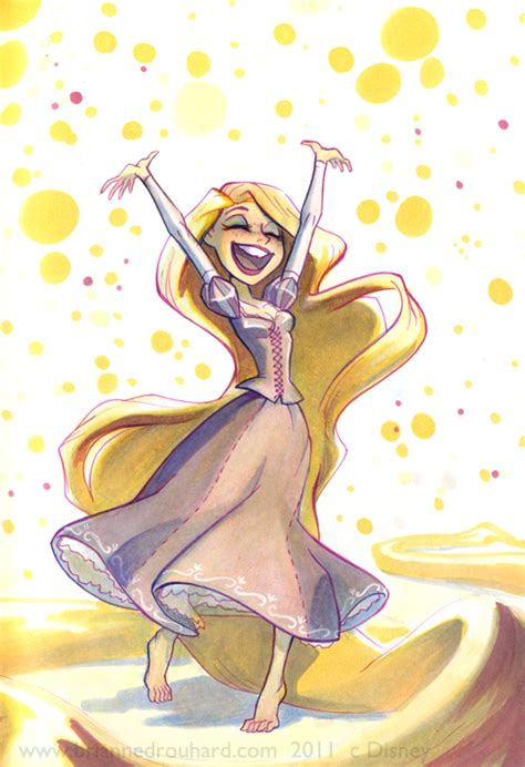 rapunzel once more by potatofarmgirl on deviantart
