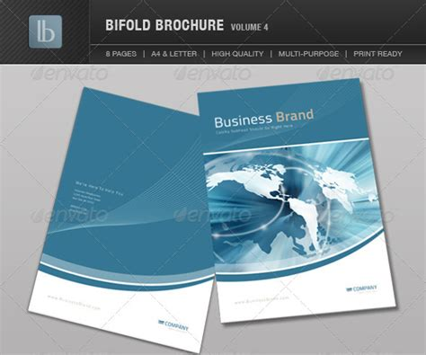 10 4 page brochure template images brochure templates