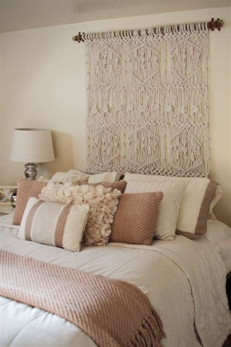 Hanging Upholstered Headboard by 1000 Ideas About Tapestry Headboard On