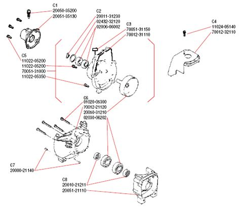 shindaiwa trimmer parts diagram shindaiwa bp35 illustrated parts diagram lawnmower pros