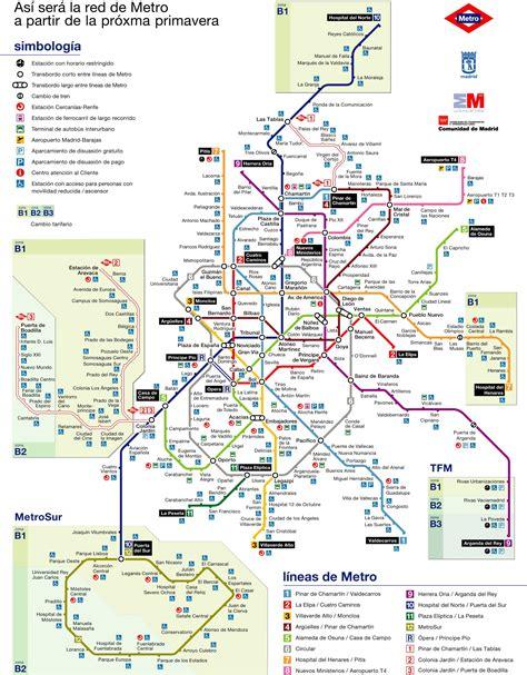 plano metro de madrid plano metro madrid pdf mapa