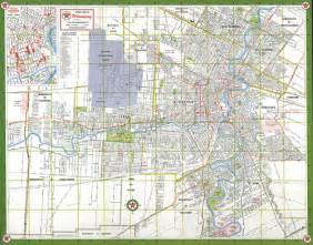 map of winnipeg canada map of the city of winnipeg manitoba 1963