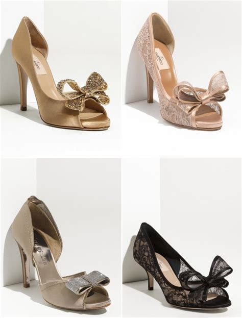 Wedding Shoes Bow by Wedding Shoes 2012 Bow Embellished Valentino Pumps