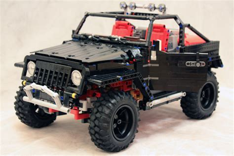 tutorial lego 4x4 red jeep image gallery lego jeep