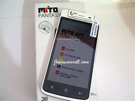 Tablet Mito A77 mito selfie a77 jogjacomcell toko gadget terpercaya jogjacomcell