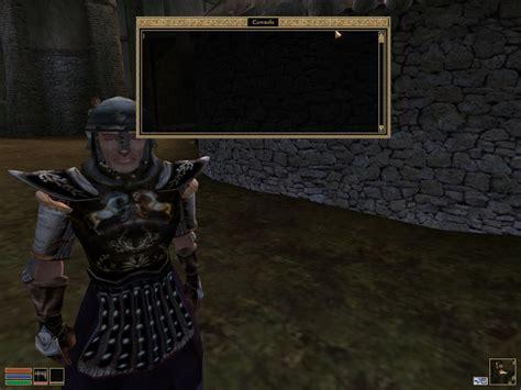 oblivion console commands console commands morrowind elder scrolls fandom