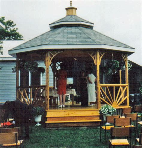 gazebo rainy days template