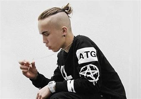 man bun undercut ideas    inspiration