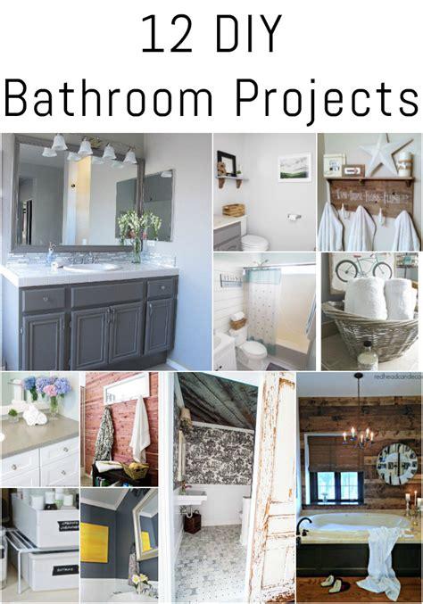 diy projects bathroom 12 diy bathroom projects erin spain