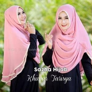 Terbaru Jilbab Khimar Tarisya 1 jilbab instan tarisya model kerudung terbaru 2018