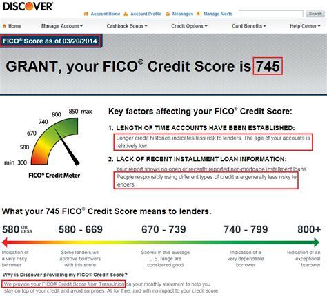 Credit Score Formula 2014 Discover Fico Score 3 20 2014
