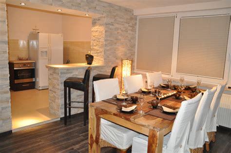 esszimmer und küche in einem raum esszimmer k 252 che idee
