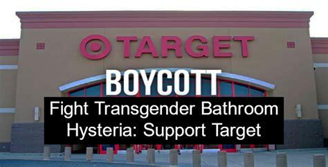 transgender bathroom target fight transgender bathroom hysteria support target