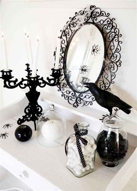 printable halloween decorations black and white 70 ideas for elegant black and white halloween decor