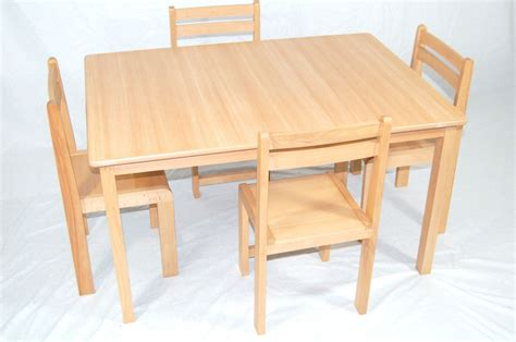 wooden table and chairs classroom chairs classroom