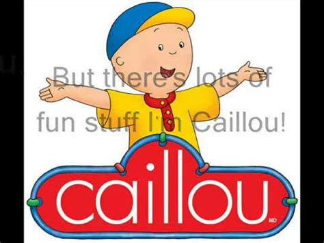theme song caillou caillou theme song real lyrics in english quotes