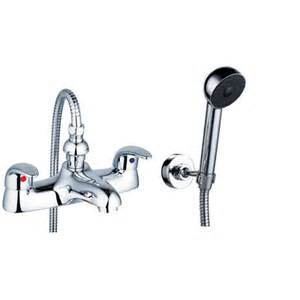 bath tap shower attachment bath amp shower mixer filler taps chrome aero 4 grand taps