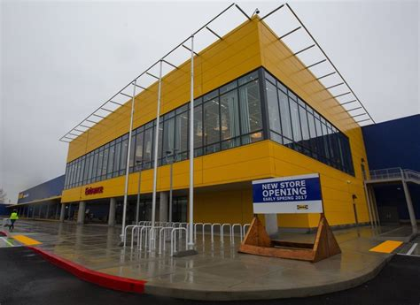 new ikea ikea almost done assembling its rejuvenated renton store