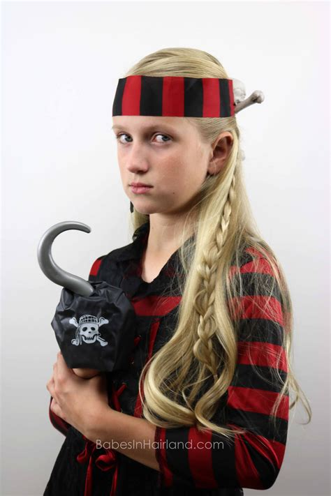Pirate Hairstyles by Skull Crossbones Pirate Hair Hairstyle