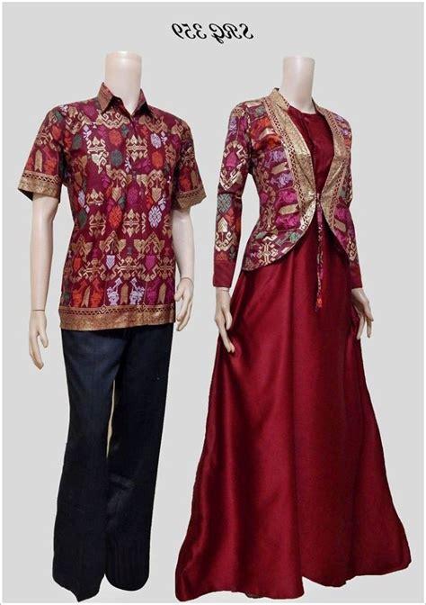 35 Galeri Contoh Baju Batik Couple Yang Sedang Tren