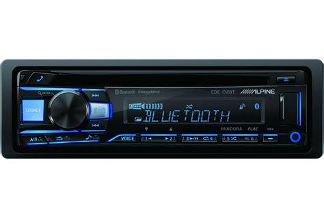 alpine bluetooth car stereo receiver cde bt