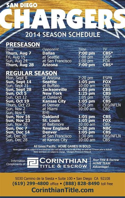 charger schedule best 25 san diego chargers schedule ideas on