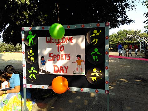 Sports Day Decorations by Sinhgad Schools